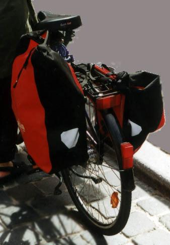 Fahrrad Gepäcktaschen Klickfix